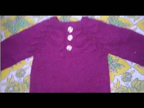Easy Baby Sweater T-Shirt style | Hindi