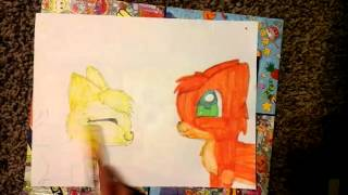 How to draw : firestar and sandstorm pt 2