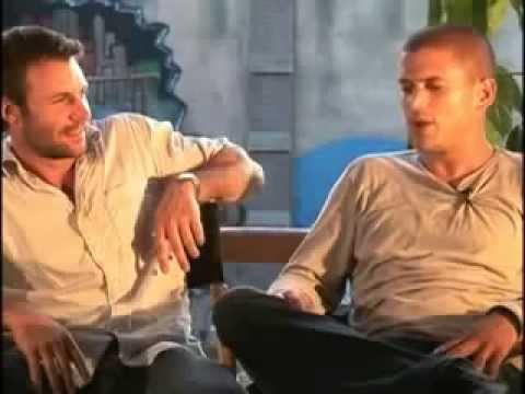 Prison Break Directors Take 3x08 Wentworth Miller And Chris Vance