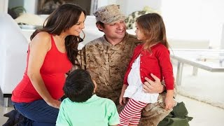 How to Adjust to Military Spouse Return | Child Anxiety