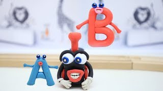 COCO Choo Choo Train Will Learn You A, B and C Letters from Alphabet