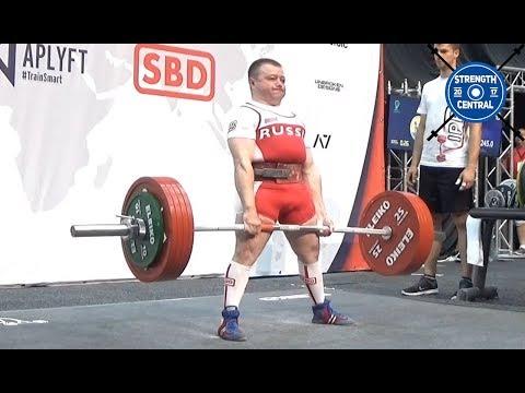 Sergey Fedosienko - 1st Place 59kg - IPF Worlds 2019 - 635 kg Total