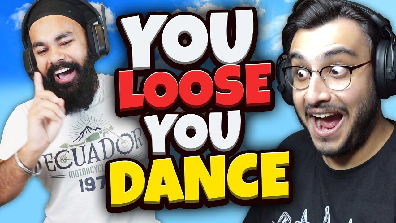 YOU LOOSE YOU DANCE ON BING BING BOO IN GTA 5 | RAWKNEE