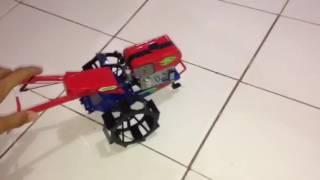 Cara membuat Miniatur traktor