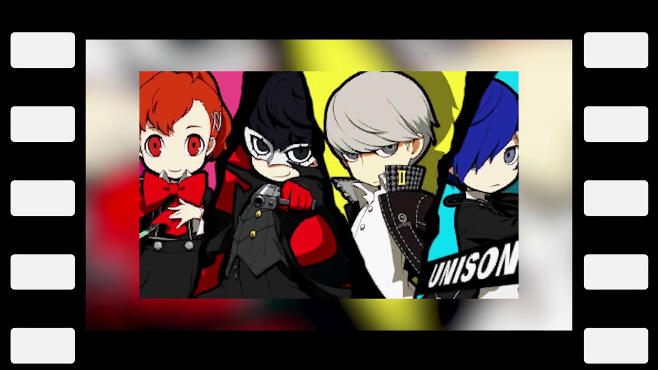 Persona Q2 3ds Review Stg