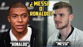 ميسي أم كريستيانو رونالدو | نجوم يختارون الأفضل بين ميسي وكريستيانو..!!