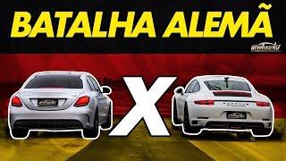 Duelo De Stuttgart! C63 Amg Dá Pau No Porsche 911 Gts Na Arrancada? - Arrancadão #9 | Acelerados