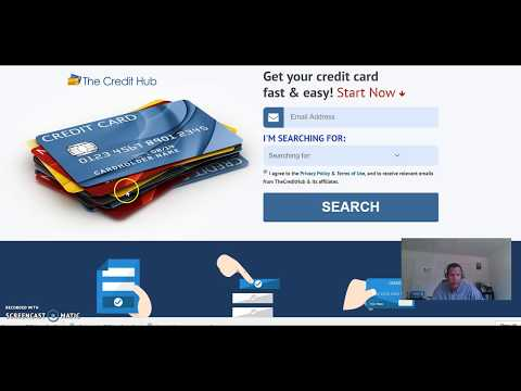 credit card search hub generator  find the best cards for bad and good credit