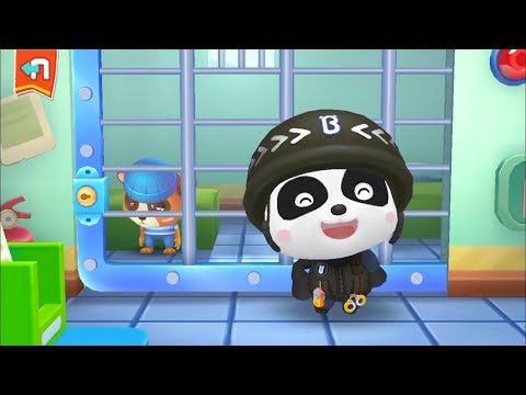 Little Panda Policeman - Fun Baby Panda Learn Safety Tips With Police Officer Educational Kids Games