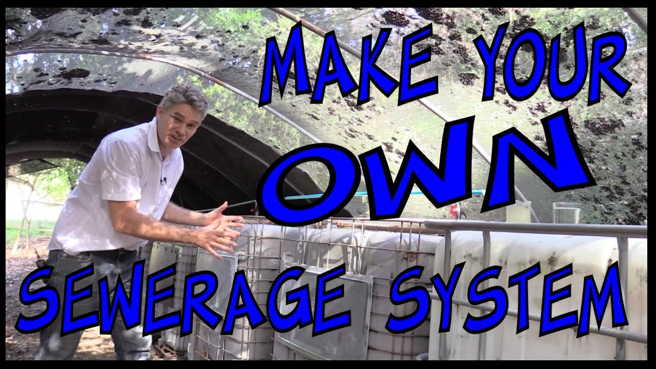 How To Make Your Own Sewage System Make Science Fun Youtube