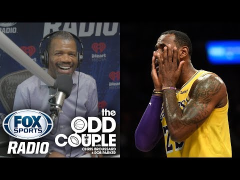 Chris Broussard & Rob Parker BATTLE Over LeBron's Failed Season