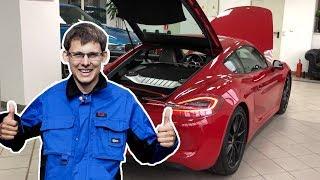 Детективное расследование манеры эксплуатации! Porsche Cayman! 340 сил, PDK!