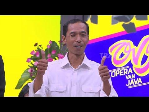 HEBOH, Jokowi KW Bagi-Bagi Sepeda Di Studio OVJ | OPERA VAN JAVA (10/12/18) Part 2