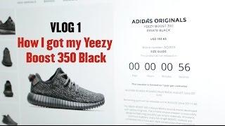 VLOG 1 - How I got the Yeezy Boost 350 Black - Mr Stoltz 2015