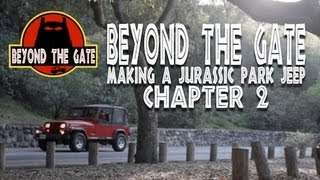"""""""beyond The Gate: Making A Jurassic Park Jeep"""" Chapter 2"""