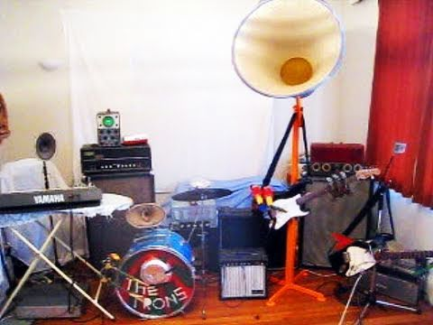 the Trons - self playing robot band