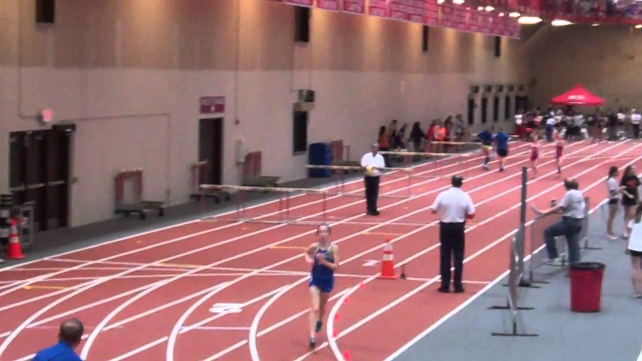2012 DuPage Valley Conference-Girls Indoor-3200m Run - YouTube