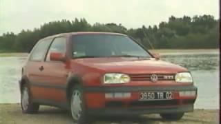 Volkswagen Golf III GTI (Test - Essai - Reportage) FR 1992