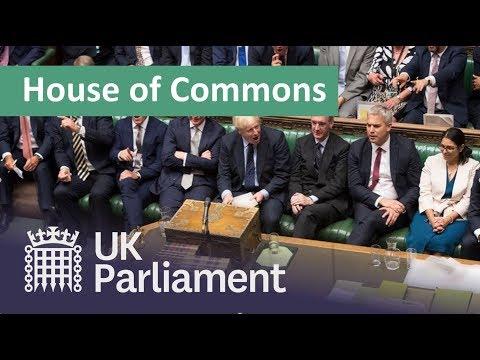 LIVE Commons Debates The Queen's Speech: 14 October 2019