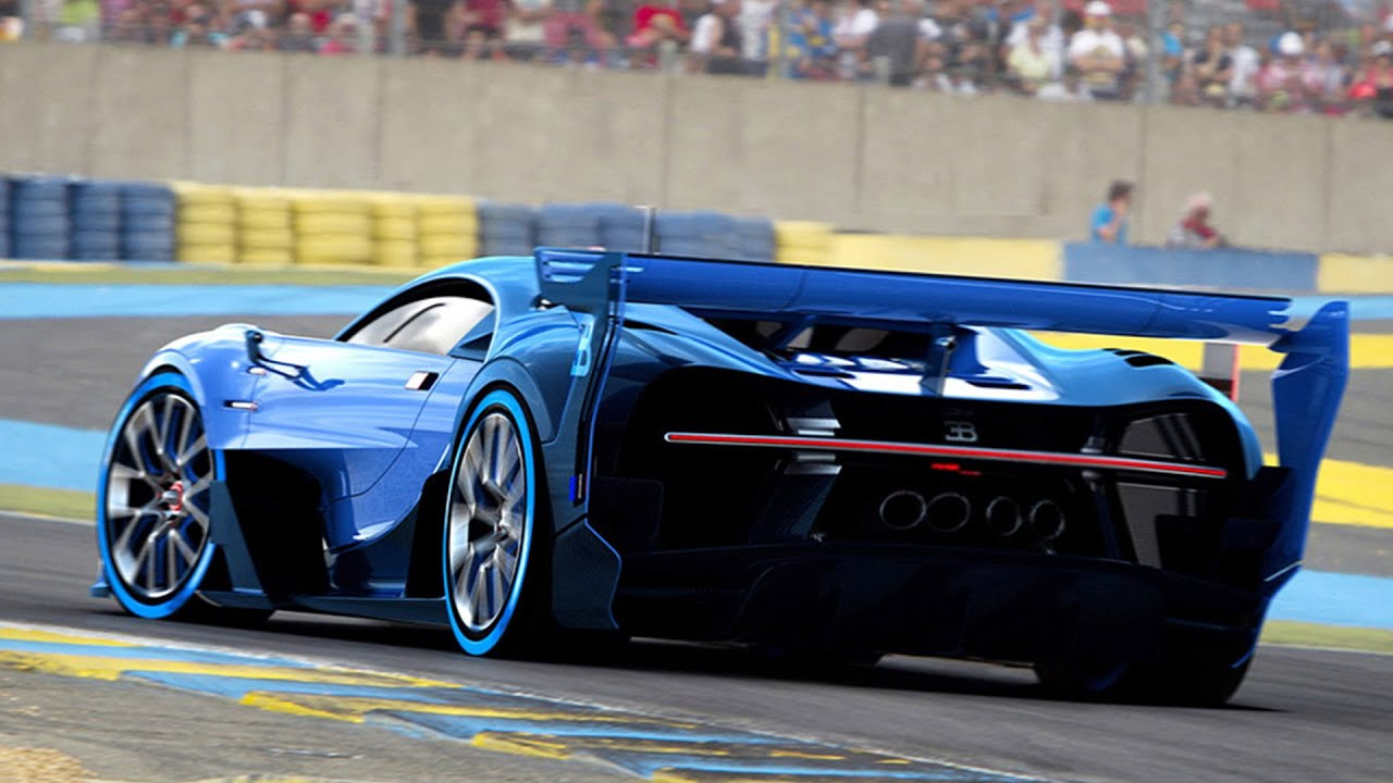 2017 bugatti vision gt spotted testing at lemans youtube. Black Bedroom Furniture Sets. Home Design Ideas