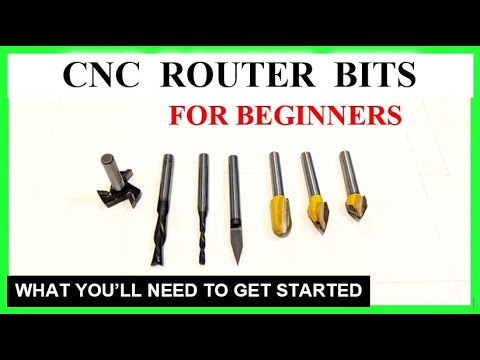Download Best CNC Router Bits & Tools For Beginners, Good CNC route bit set