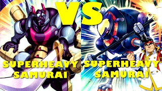 Real Life Yugioh - SUPERHEAVY SAMURAI vs SUPERHEAVY SAMURAI | February 2017 Scrub League