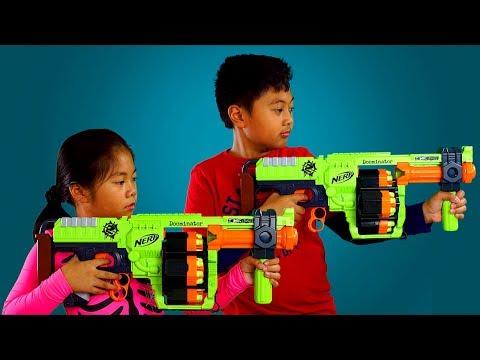 NERF ZOMBIESTRIKE DOOMINATOR From Toys