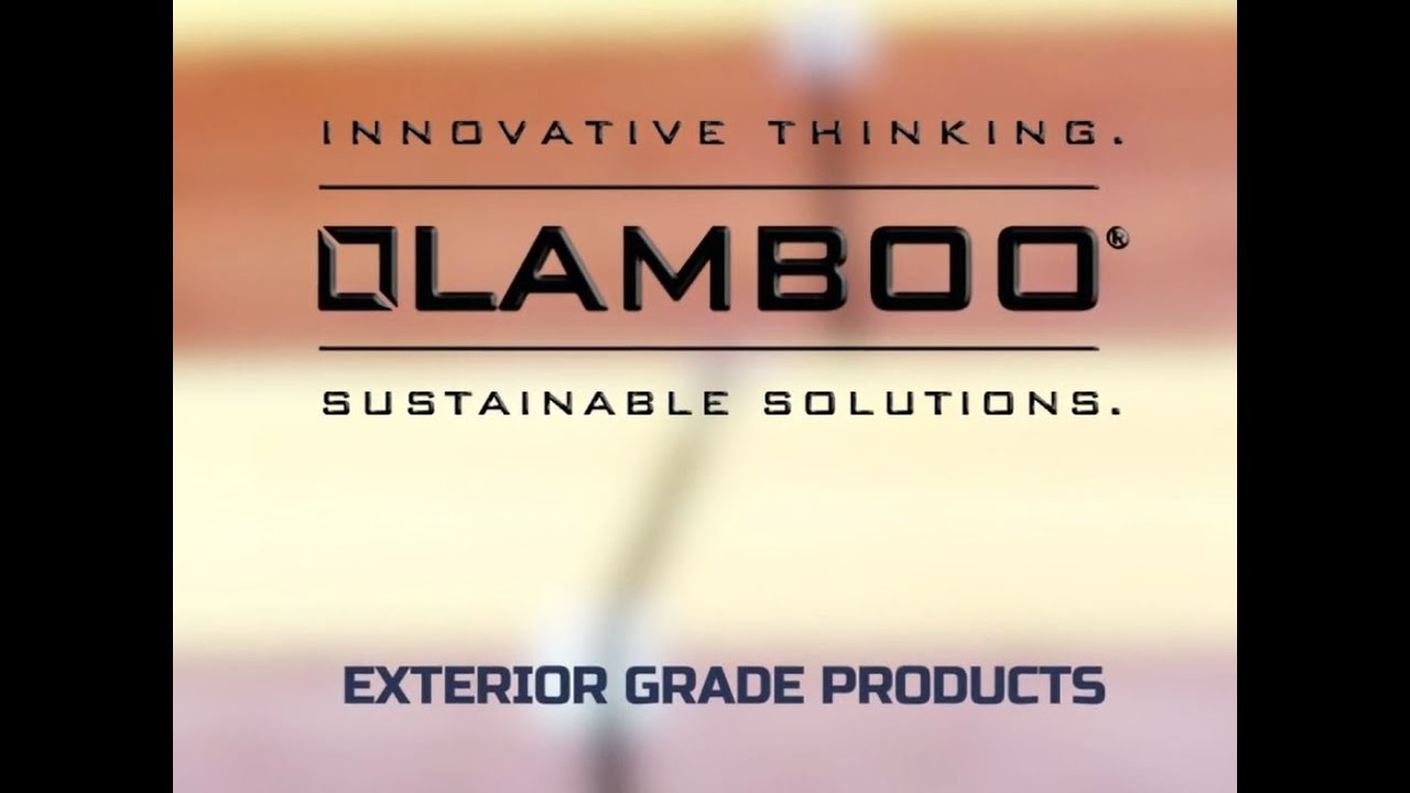 Lamboo® Exterior Grade Products Video