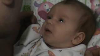 Это видео поднимет настроение.Развитие ребёнка 1 месяц (3 недели)