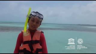 Ian #MyOceanPledge Sian Ka'an World Heritage marine site