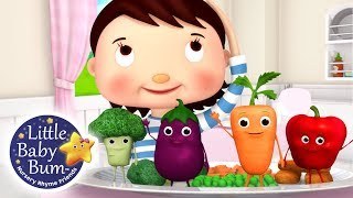 Learn How To Eat Your Vegetables! | 32 Mins | Fun #Learning with #LittleBabyBum | #NurseryRhymes