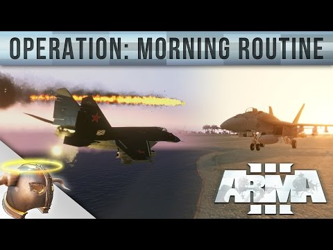 """Morning Routine"" ARMA 3 Wake Island custom mission by EvilViking13"