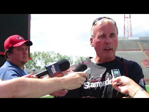 Calgary Stampeders: coach John Hufnagel on Monday