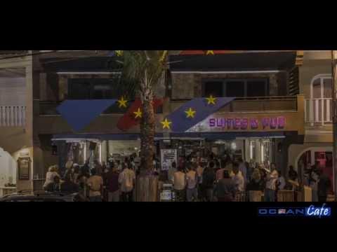 """Cape Verde - A """"quiet evening"""" at the Ocean Cafe - Santa Maria - Sal"""