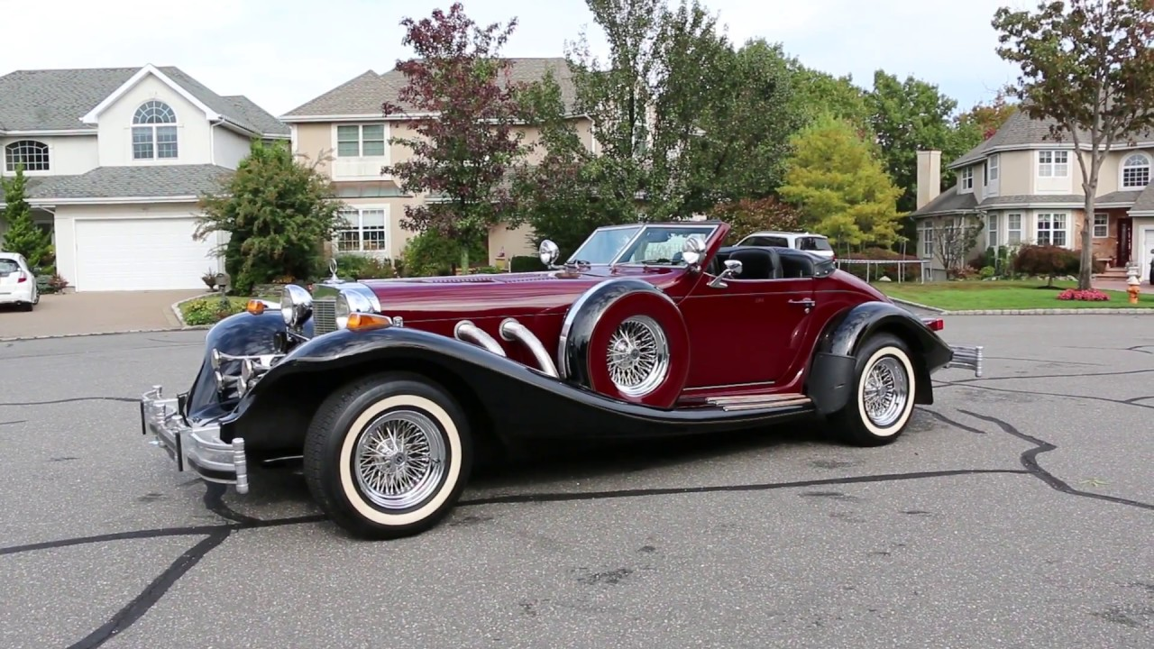ONE OWNER, VERY RARE 1981 Excalibur IV Roadster For Sale~ 6 of ...