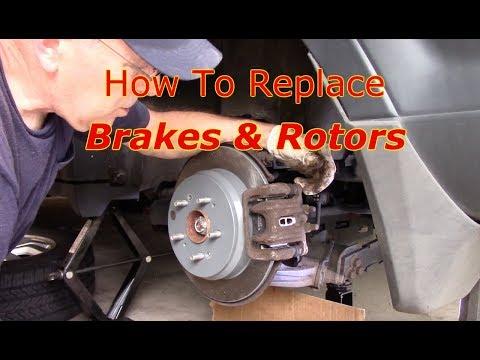 How To Replace Rear Brakes & Rotors 2002-2011 Honda CRV