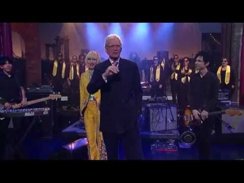 David Pajo With Yeah Yeah Yeahs Letterman (2013/04/05)