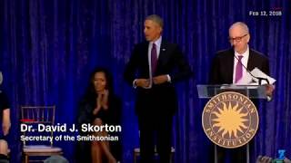 Barrack Obama Portrait Unveiling!!