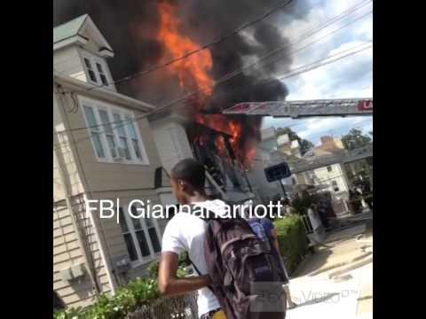 4 Alarm Fire Bronx New York Hill Ave Near 241st Wakefield