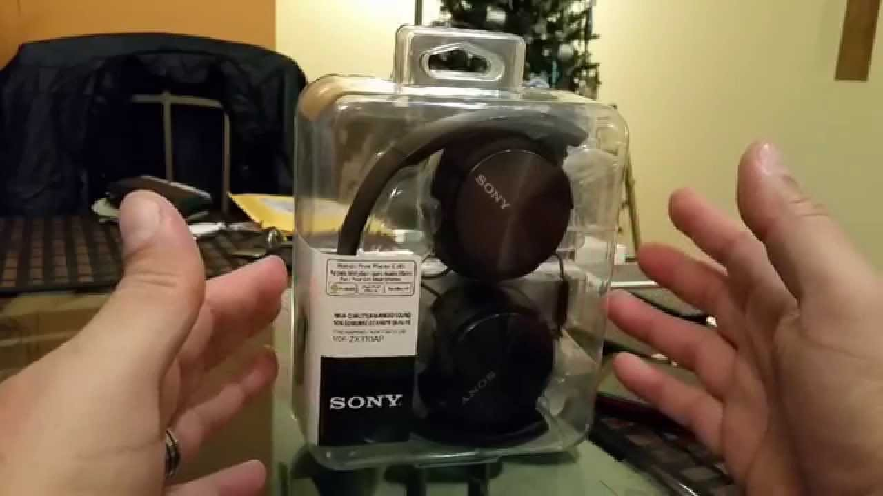 Sony MDR-ZX310AP Headphones [Full Review] - YouTube