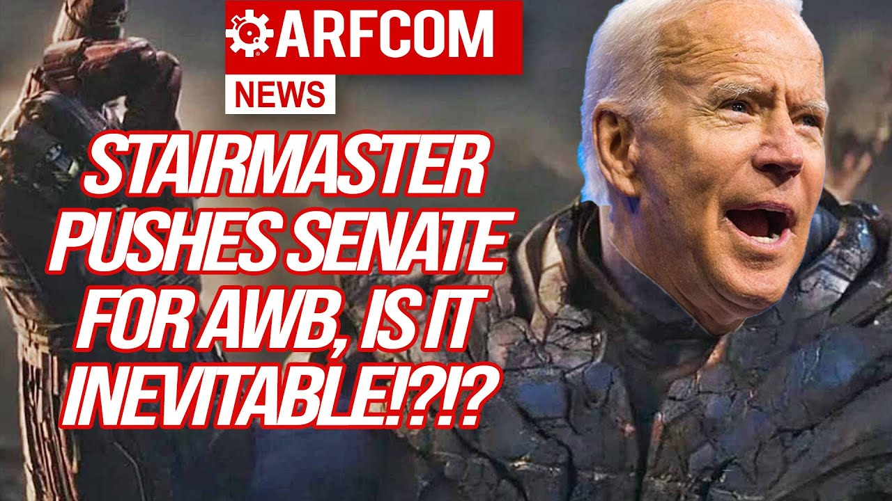 [ARFCOM NEWS] Stairmaster Pushes Senate For AWB, Is It Inevitable? + Permitless Carry Keeps Winning