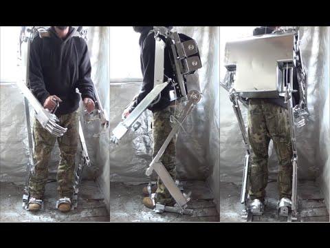Exoskeleton Suit, Final build video