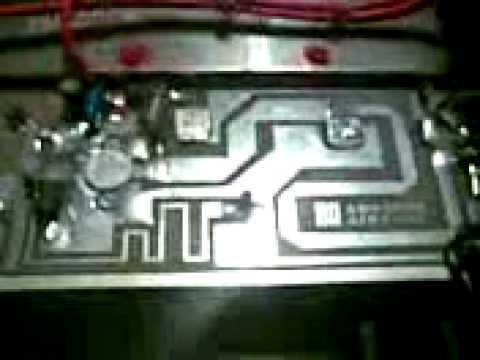 AMPLIF. BROADCAST  FM  88-108 Mhz    mod.  Db KN 500