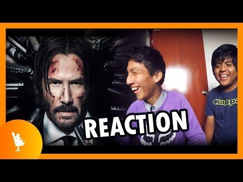 JOHN WICK: CHAPTER 2 TRAILER - Video Reacción → SALATRES