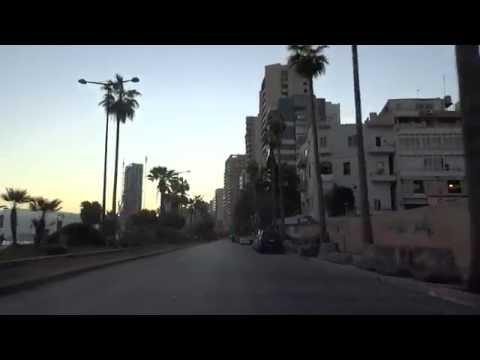 Driving: Lebanon Road Trip: Beirut, Lebanon (2016-02-14)
