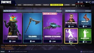 FORTNITE'S *NEW STORE* TODAY OCTOBER 14 *NEW SKIN* HEAD *NEW PEAK* CARVER