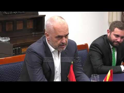 Rama në Shkup, takon Zaev - Top Channel Albania - News - Lajme