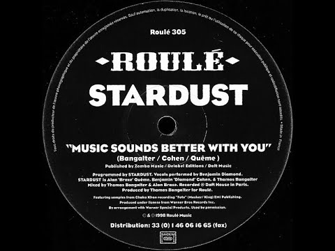 Stardust - Music Sounds Better With You