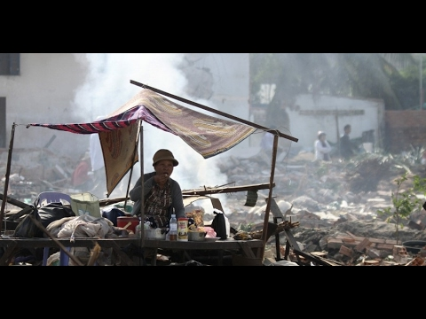 Cambodia's low-income residents displaced by development