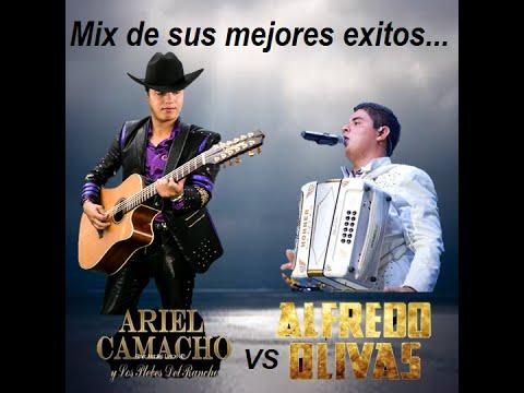 Mix Ariel Camacho VS Alfredo olivas (sus mejores éxitos)